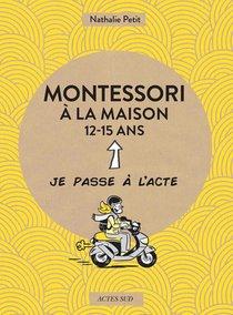 Montessori A La Maison : 12-15 Ans