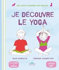 Mon Premier Livre De Yoga ; Avec Papa Et Maman