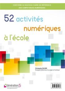 52 Activites Numeriques A L'ecole