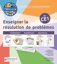 M Ths En-vie - Enseigner La Resolution De Problemes Au Ce1 (classeur + 1 Jeu De 5 Livrets)