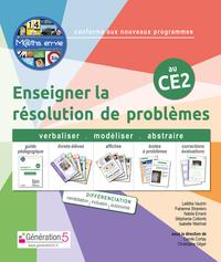 M Ths En-vie - Enseigner La Resolution De Problemes Au Ce2 (classeur + 1 Jeu De 5 Livrets)