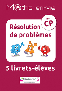 M Ths En-vie - Jeu De 5 Livrets - Resolution De Problemes Au Cp