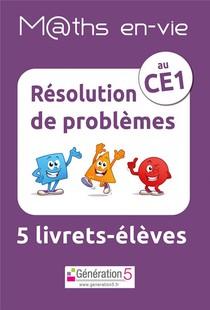 M Ths En-vie - Jeu De 5 Livrets - Resolution De Problemes Au Ce1