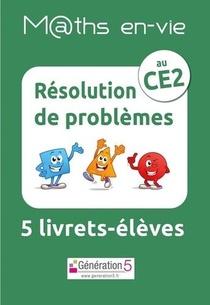 M@ths En-vie ; Jeu De 5 Livrets ; Resolution De Problemes Au Ce2