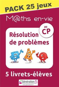 M Ths En-vie - Pack 25 Jeux De 5 Livrets - Resolution De Problemes Au Cp