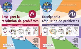 Pack M Ths En-vie - Enseigner La Resolution De Problemes Cp-ce1