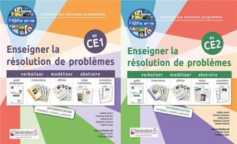 Pack M Ths En-vie - Enseigner La Resolution De Problemes Ce1-ce2