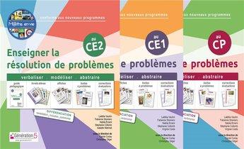 Pack M@ths En-vie : Enseigner La Resolution De Problemes Cp-ce1-ce2