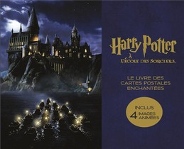 Harry Potter A L'ecole Des Sorciers ; Le Livre Des Cartes Postales Enchantees