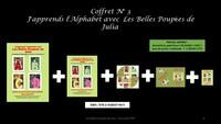 J'apprends L'alphabet Avec Les Belles Poupees De Julia