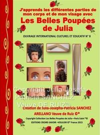 Livre N 8 J'apprends A Connaitre Les Differentes Parties De Mon Corps Et Mon Visage Avec Les Belles