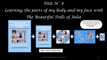 I Learn The Parts Of My Body And My Face With The Beautiful Dolls Of Julia