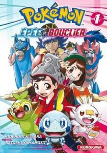 Pokemon ; La Grande Aventure - Epee Et Bouclier T.1