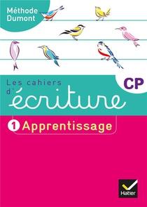 Les Cahiers D'ecriture T.1 ; Cp ; Apprentissage (edition 2019)