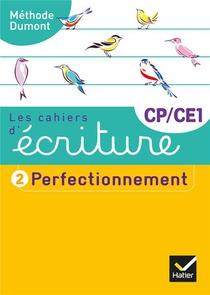Les Cahiers D'ecriture T.2 ; Cp/ce1 ; Perfectionnement (edition 2019)