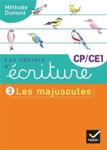 Les Cahiers D'ecriture T.3 ; Cp/ce1 ; Les Majuscules (edition 2019)
