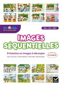Images Sequentielles ; Francais ; Ms, Gs, Ash ; 8 Histoires En Images A Decouper (edition 2020)