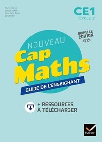Cap Maths ; Ce1 ; Guide Pedagogique + Ressources A Telecharger (edition 2020)
