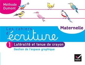Les Cahiers D'ecriture - Maternelle Ps, Ms, Gs Ed. 2020 - Cahier N 1 : Gestion De L'espace Graphique