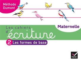Les Cahiers D'ecriture - Maternelle Ms, Gs Ed. 2020 - Cahier N 2 : Les Formes De Base