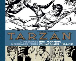 Tarzan - Newspaper Strips ; Integrale Vol.4 ; 1974-1979