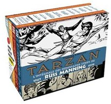 Tarzan - Newspaper Strips ; Coffret Integrale T.1 A T.4 ; 1967-1979