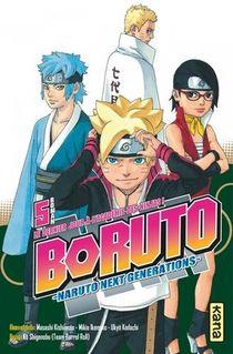 Boruto - Naruto Next Generations T.5 ; Le Dernier Jour A L'academie Des Ninjas !