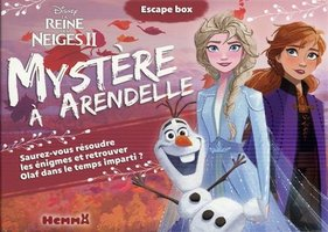 La Reine Des Neiges 2 ; Escape Box ; Mystere A Arendelle