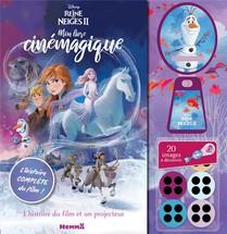La Reine Des Neiges 2 ; Mon Livre Cinemagique ; Elsa Sur Cheval