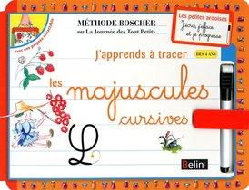 J'apprends A Tracer Les Lettres Majuscules Cursives