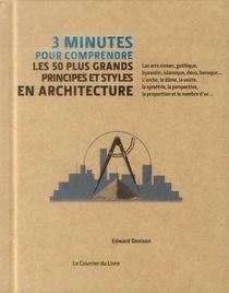 3 Minutes Pour Comprendre ; Les 50 Plus Grands Principes Et Styles En Architecture