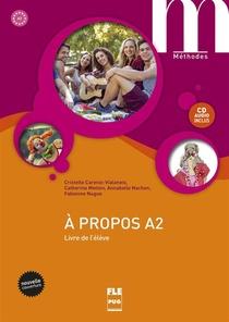 A Propos A2-livre Eleve+cd- Nvelle Couv
