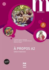 A Propos A2-cahier Exercices + Cd-nvelle Couv