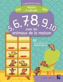 J'apprends Les Maths ; Gs ; Album A Calculer Avec Les Animaux De La Maison
