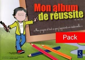 Pack De 10 Mon Album De Reussite Ps Ms Gs