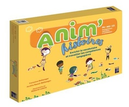 Anim'histoires Maternelle ; Ps, Ms, Gs (edition 2020)