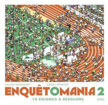 Enquetomania T.2 ; 16 Enigmes A Resoudre