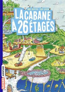 La Cabane A 13 Etages T.2 ; La Cabane A 26 Etages