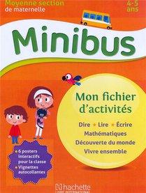 """Minibus Maternelle Ms Mon Fichier D'activites """"tout En Un"""""""