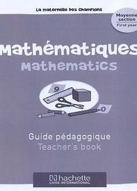 Maternelle Des Champions Mathematiques Ms Guide Pedagogique
