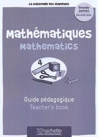 Maternelle Des Champions Mathematiques Gs Guide Pedagogique
