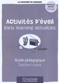 Maternelle Des Champions Activites D'eveil Ms Guide Pedagogique