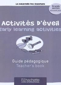 Maternelle Des Champions Activites D'eveil Gs Guide Pedagogique