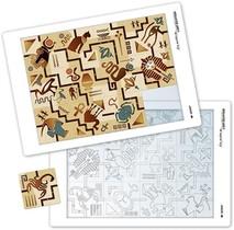 Puzzle A La Maniere De L'art Egyptien