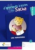 J'apprends A Ecrire Avec Sacha minuscules