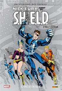 Nick Fury ; Agent Du S.h.i.e.l.d. ; Integrale Vol.2 ; 1967-1968