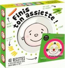 Finis Ton Assiette ! Coffret Assiette + Livre Recettes Enfants