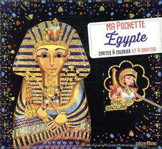 Ma Pochette Egypte ; Cartes A Colorier Et A Gratter