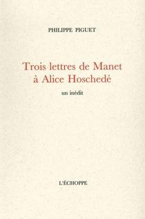 Trois Lettres De Manet A Alice Hoschede
