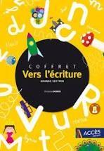 Coffret Vers L'ecriture - Grande Section